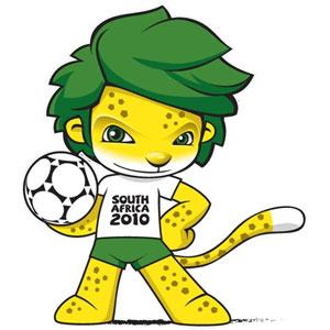 Zakumi - Mascote da Copa do Mundo - �frica do Sul 2010