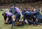 Espanha festeja t�tulo mundial