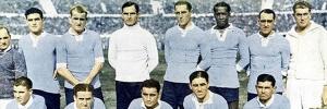 Uruguai organiza e ganha a primeira Copa do Mundo, dando in�cio � m�tica Celeste Ol�mpica