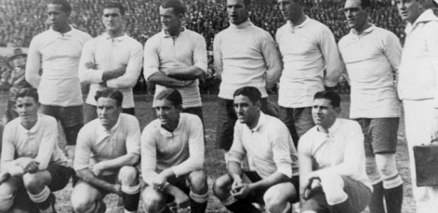 Copa do Mundo v o nascimento da mtica seleo Celeste Olmpica em 1930
