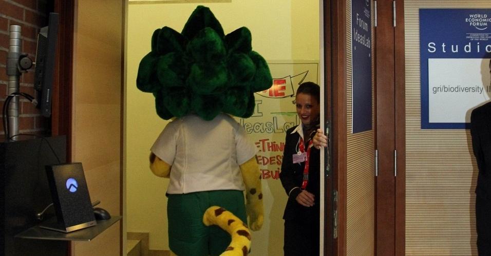 Zakumi, mascote da Copa do Mundo-2010,