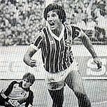 O atacante Renato Gaúcho foi cortado pelo técnico Telê Santana e ficou de fora da Copa do Mundo de 1986