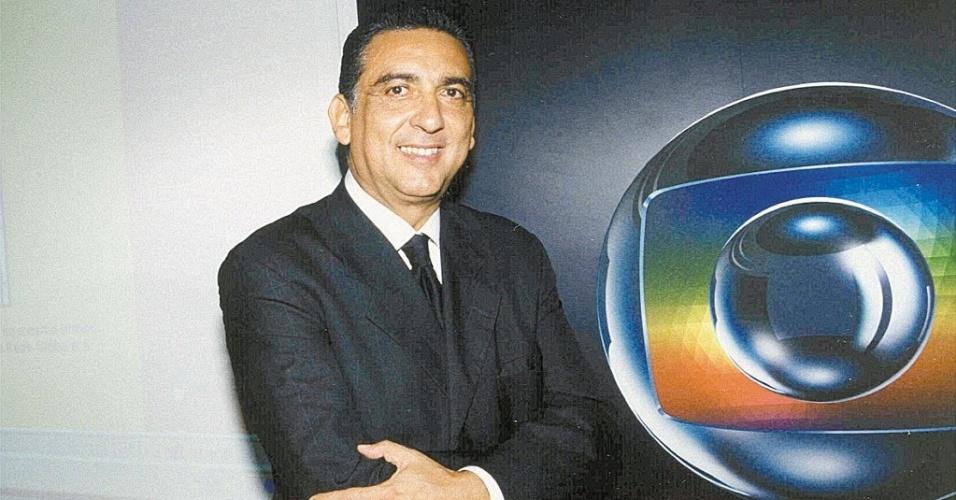 Galvão Bueno, narrador da TV Globo
