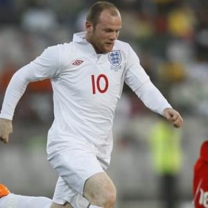 Rooney marcou um dos gols no  jogo-treino vencido pela seleção da Inglaterra em preparação à Copa