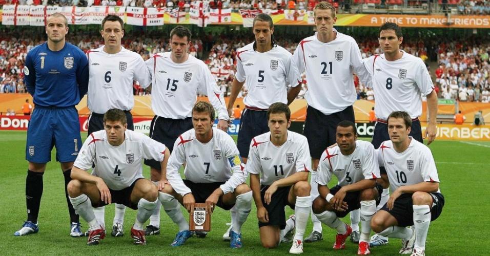 Seleção da Inglaterra em 2006