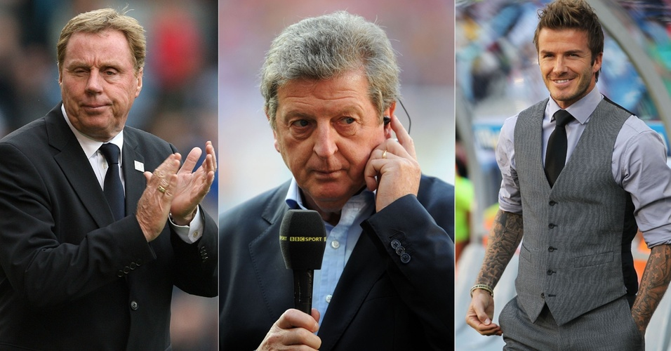 Harry Redknapp, Roy Hodgson e David Beckham são os principais cotados para a seleção inglesa no lugar de Capello