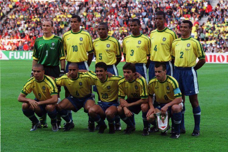 Jogos Da Selecao Brasileira De Futebol Elenco Do Brasil Na Copa Do Mundo De 1998