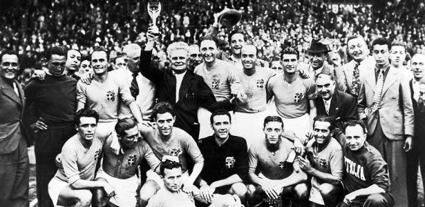 Fascismo produz domínio no futebol e a primeira seleção bicampeã mundial