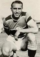 Niginho, atleta brasileiro que recusou a convocação para o exército de Mussolini por sua ascendência italiana.