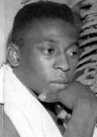 Pelé, um dia depois da conquista do título