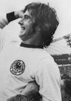 Gerd Müller, atacante da seleção da Alemanha e autor de 14 gols na história da Copa do Mundo