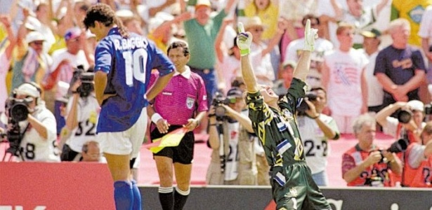 Pênalti perdido por Baggio na final marcou sua carreira e a Copa de 94