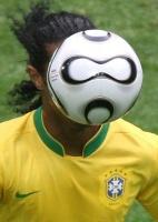 Ronaldinho Gaúcho, sumido durante a Copa do Mundo na Alemanha