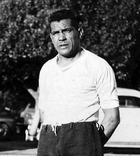 Obdulio Varela, destaque da seleção uruguaia de 1950
