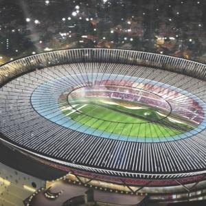 Projeto do São Paulo para o Morumbi na Copa de 2014