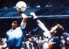 """Bandeirinha que não viu """"Mão de Deus"""" de Maradona morre aos 80 anos - Arquivo/Folha Imagem"""