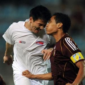 Adversária do Brasil na Copa do Mundo, Coreia do Norte foi derrotada pela Venezuela em amistoso