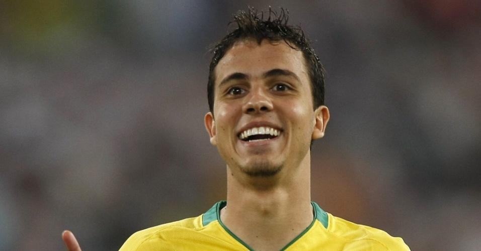 Nilmar, atacante da seleção brasileira