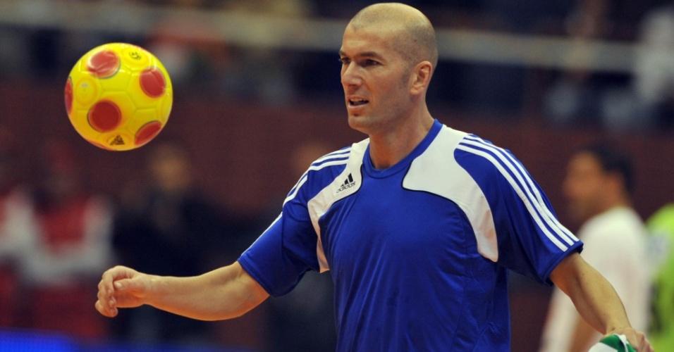 Ex-jogador francês Zinedine Zidane