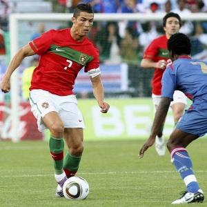 Discreto, Cristiano Ronaldo viu Portugal amargar empate sem gols am amistoso contra Cabo Verde