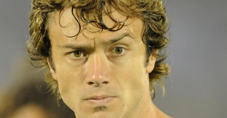 Diego Lugano, jogador da seleção do Uruguai de futebol