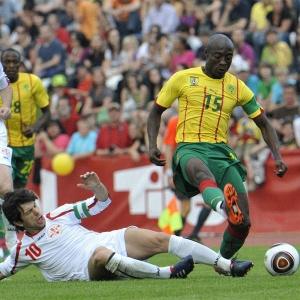 Em amistoso disputado em Linz (Áustria), Camarões ficou no 0 a 0 contra a Geórgia