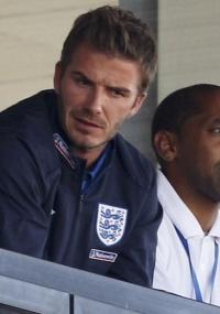 Beckham observa amistoso dos Estados Unidos na África do Sul