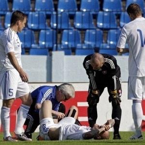 Skrtel lesionou tornozelo direito durante amistoso da Eslováquia contra Costa Rica e se tornou dúvida