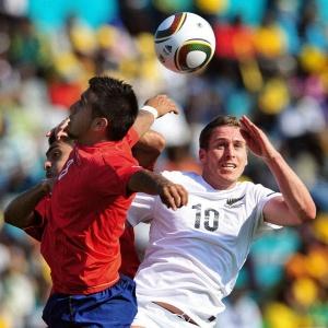 No último amistoso das duas seleções antes da Copa, Chile derrotou a Nova Zelândia por 2 a 0