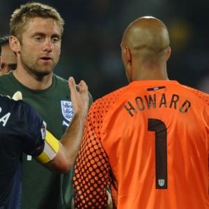Tim Howard cumprimenta Robert Green após o empate: Eu realmente senti muito por ele