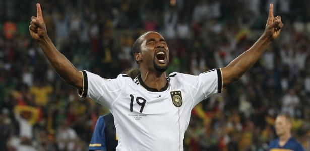 Cacau durante Copa do Mundo de 2010: brasileiro atuou pela seleção alemã
