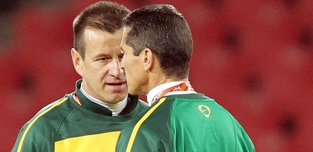 Dunga e Jorginho trabalharam juntos na seleção durante o ciclo para a copa de 2010 - Flavio Florido/UOL