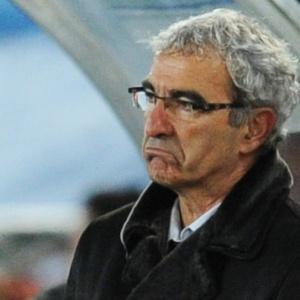 Domenech não escondeu a frustração com mais uma atuação sem brilho da França no Mundial