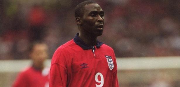 Andy Cole também jogou pela seleção da Inglaterra