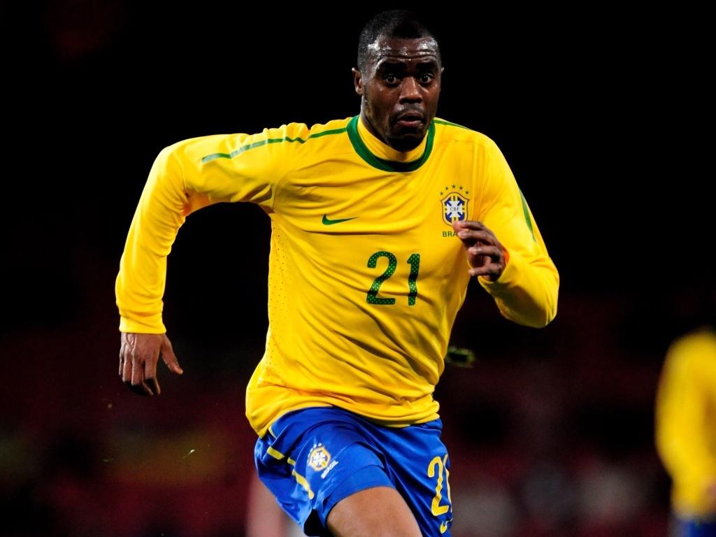 Grafite, atacante da seleção brasileira na Copa do mundo de 2010