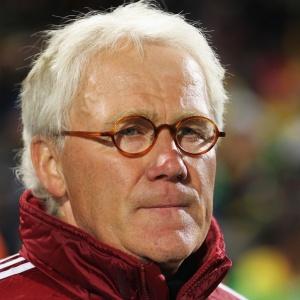 Morten Olsen, técnico da Dinamarca, aposta na experiência de jogadores que já disputaram Copa