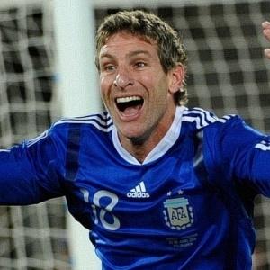 Palermo entrou no segundo tempo e fechou o placar para a Argentina nos 2 a 0 sobre a Grécia