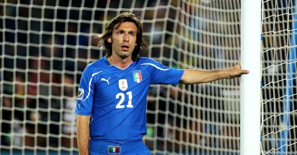 Pirlo, na eliminação da Itália da Copa