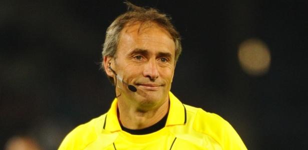 Héctor Baldassi está escalado como assistente internacional em Lanús x Grêmio - AFP PHOTO / CHRISTOPHE SIMON