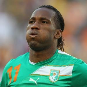 Drogba se despede da Copa do Mundo da África do Sul com o 3º lugar da Costa do Marfim no grupo G