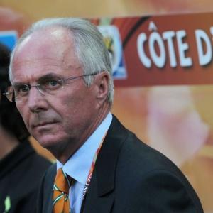Sven Goran Eriksson, técnico da Costa do Marfim na Copa do Mundo, teria se oferecido ao São Paulo