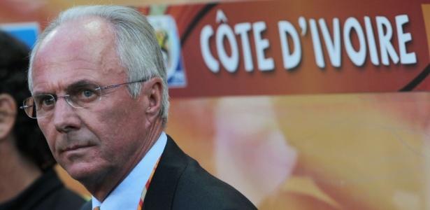Sven Goran Eriksson foi oferecido ao Atlético-MG por um empresário