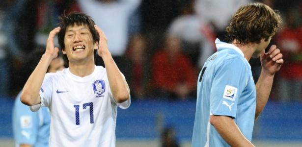 Fora da Copa: Coreia do Sul sofre com brilho de Suárez e está eliminada