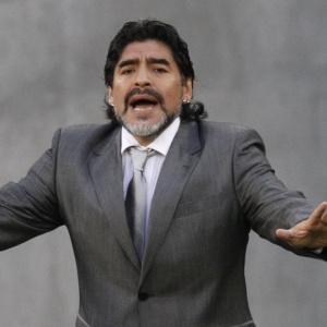 Maradona permanece sem falar sobre seu futuro desde a eliminação argentina na Copa do Mundo