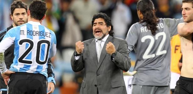Comandante da Argentina entre 2008 e 2010, argentino negou estar se oferecendo à vaga - Flávio Florido/UOL