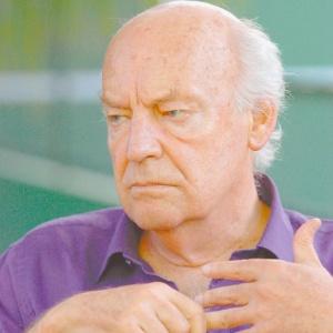 O escritor e jornalista Eduardo Galeano, durante a Feira Internacional do Livro de Porto de Galinhas (Fliporto) de 2009 - Lila Rodrigues/Divulgação Fliporto