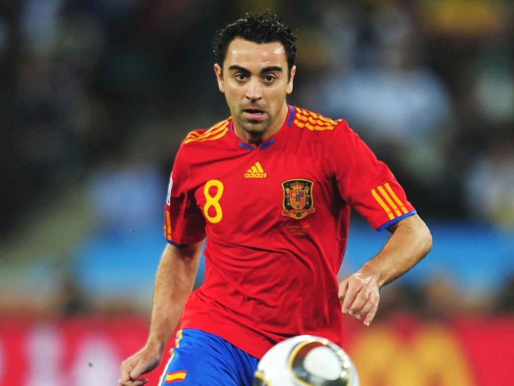6c066e0dbe Xavi se aposenta da seleção espanhola