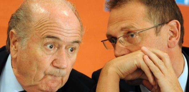 Joseph Blatter e Jérome Valcke desfrutam de tratamento de chefe de Estado no Rio