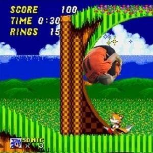 Robben vira Sonic em montagem